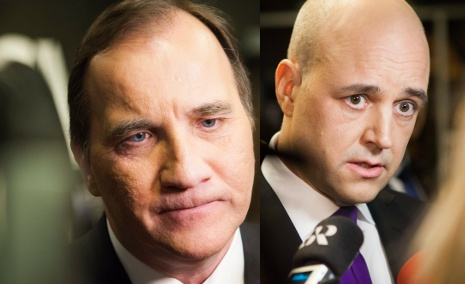 Löfven storms away from Reinfeldt in new poll
