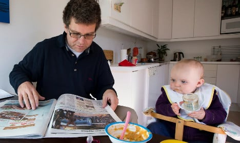 Liberals to push extra 'daddy month' on Swedes