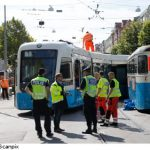 """""""Do the police deliver?"""" <br><br>  A woman left her bag of groceries on a tram so rang the police to see if they could perhaps race up alongside it so they could retrieve it for her."""