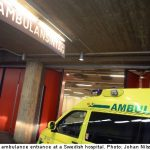 """""""I need an ambulance...in the hospital"""" <br><br>  Fed up with waiting in the emergency room a woman whose son had a fever rang up 112. She complained that they were waiting too long and wanted to get in quicker."""
