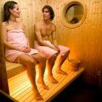 5. You shall never wear clothing in the sauna. You look like a total foreigner if you do. And during the winter you shall stay naked when you run into the snow and freezing water after sitting in the sauna.Photo: These rookies need to take off the towels. Photo: Henrik Montgomery/TT