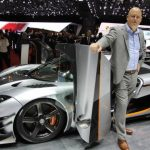 Fastest production car in the world. Here's one for all you motorheads. In March this year, Swedish car markers Koenigsegg revealed the One:1, which they said can hit a top speed of 273 mph. That's 439km/hr, just a tad faster than the Hennessey Venom GT. Each kilo of the One:1 sees its engine produce one horsepower (hence the name). This is a world first, too. Photo: Karin Olander/TT