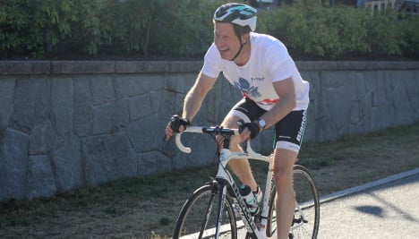 US envoy gets on his bike to back trade deal