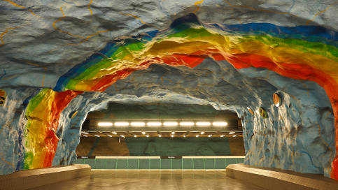 Stockholm holds colour contest for new metro