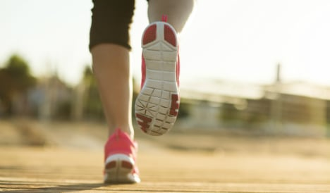 Woman claims sick pay despite running career