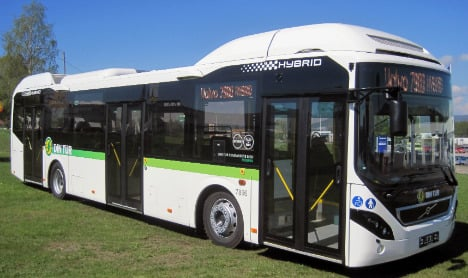 ABB and Volvo in electric buses tie-up