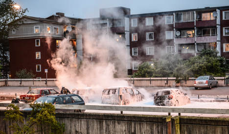 Police shooting in Husby ruled 'self-defence'