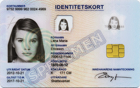 Introducing... ID cards and permits in Stockholm