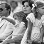 Victoria (far right) hasn't always been quite so proper. The little princess had a hard time focusing in 1983.Photo: TT