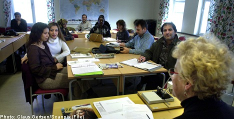 Sweden plans to scrap SFI for adult education