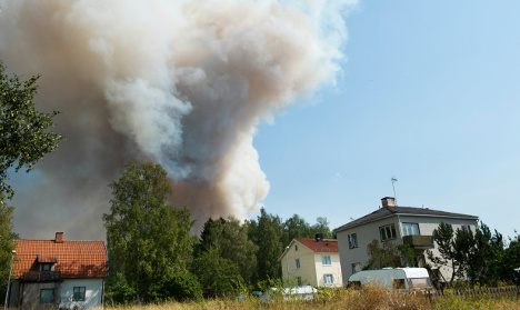 Emergency crews ready for fire to spread north