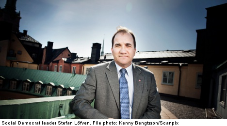 Löfven pushes for trainee jobs in elderly care