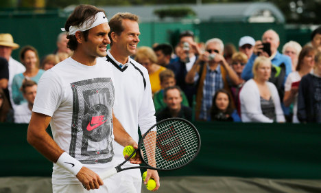 Swedish tennis ace thrilled to coach Federer