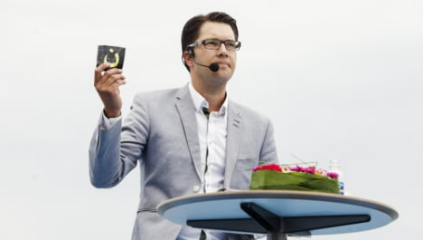 Åkesson: 'Islamism is the Nazism of our time'
