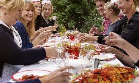 What's a Swedish crayfish party?