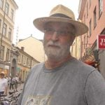 """Sven, 72<br><br> """"Sweden hasn't been in war mainly because of cowardice and carefulness. During World War II they got away with letting German troops getting into Finland, and that 'neutrality.'"""" <br><br> Will Sweden get into a conflict in the near future?<br><br> """"In the future, maybe the current problems with Ukraine and Russia could pull Sweden in."""" Photo: Isabela Vrba"""