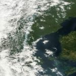 The smoke can be seen from spacePhoto: Nasa