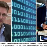 Row as Snowden wins Swedish rights prize