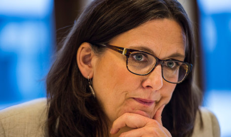 Malmström is Europe's new trade minister