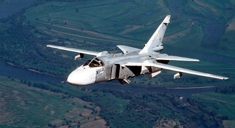 Russian jets spotted in Swedish airspace