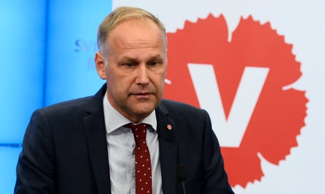 Löfven rules out making government with the Left