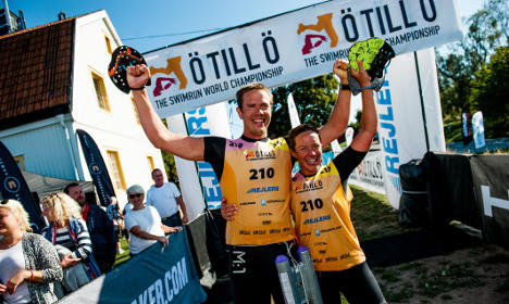Record win at Sweden's tough island race