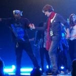 Schyman shares stage with 'feminist' Pharell
