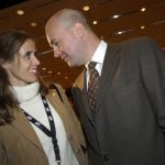 With his then-wife Filippa Reinfeldt in 2003. The pair split in 2012 after 20 years of marriage. They have three children together.Photo: TT