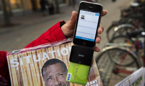 Sweden close to being a cashless society