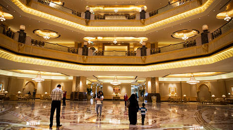 Guards stay in luxury hotels after deportations