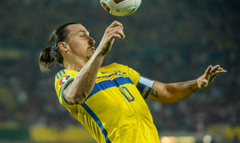 Sweden to gamble on Zlatan for Russia tie