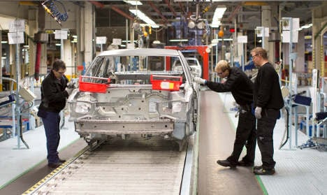 Swedish Saab plant sheds a third of workers