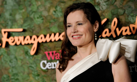 Geena Davis: 'I want to be in a Swedish movie'