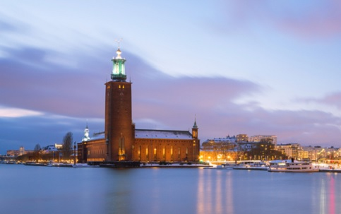 International students welcomed to Stockholm City Hall (pictures)