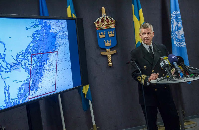 'Foreign activity' in Swedish waters