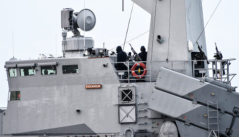 Why a foreign vessel lurks in Swedish waters