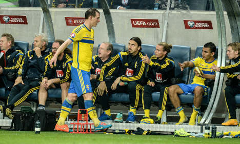 Sweden draw against Russia without Zlatan