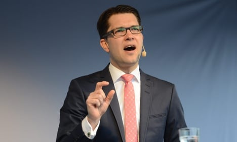 Jimmie Åkesson on sick leave for exhaustion