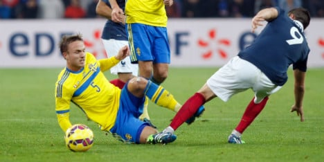 Sweden sink to French defeat without Zlatan