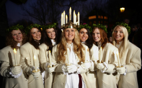 Interest in Swedish Lucia on the wane