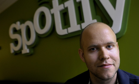 Sweden's Spotify CEO defends streaming costs
