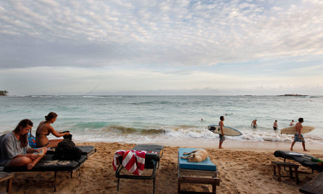 Swedish tourist dies in diving accident