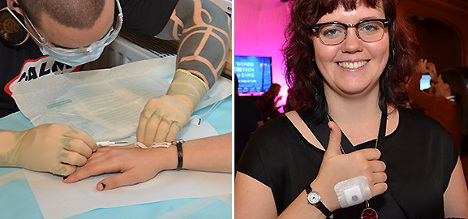 'I'm among the first Swedes with a microchip'