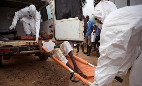 Swedish blood donors help Africa Ebola fight