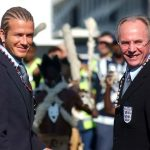 David Beckham enjoyed a close relationship with Sven, with the midfielder captaining England for the whole duration of the Swede's stint in charge.Photo: AP Photo
