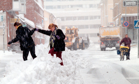 Sweden to get hit by 30 centimetres of snow