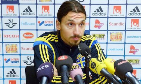 Zlatan fit enough to play for Sweden again