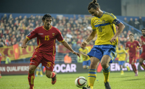 Zlatan to miss Sweden's friendly with France