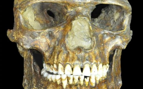 Skeleton shows Swedes among 'first' Europeans