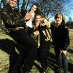 The quartet pictured at the start of their recording career in 1993. Photo: Anders Wiklund/FLT-PICA